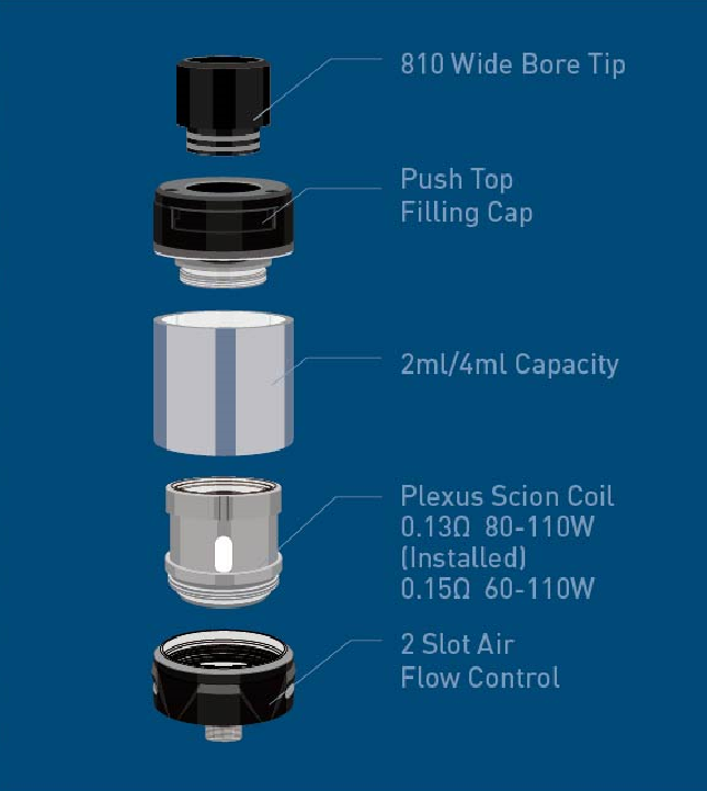 Innokin Plex Quick Reference Guide
