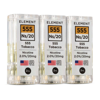Element NS20 E-Liquid 555 Tobacco