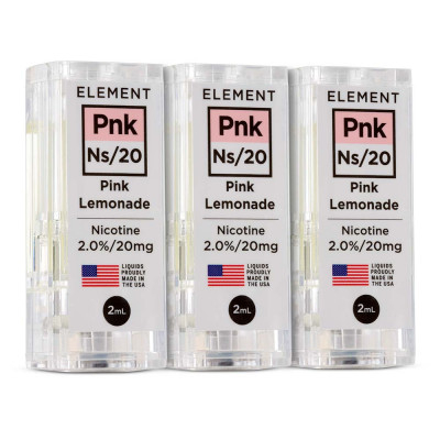 Element NS20 E-Liquid Pink Lemonade