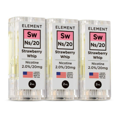 Element NS20 E-Liquid Strawberry Whip